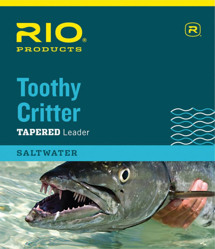 Rio Products Rio TOOTHY CRITTER II 7.5' 30LB CLASS 30LB STAINLESS WIRE WITH SNAP