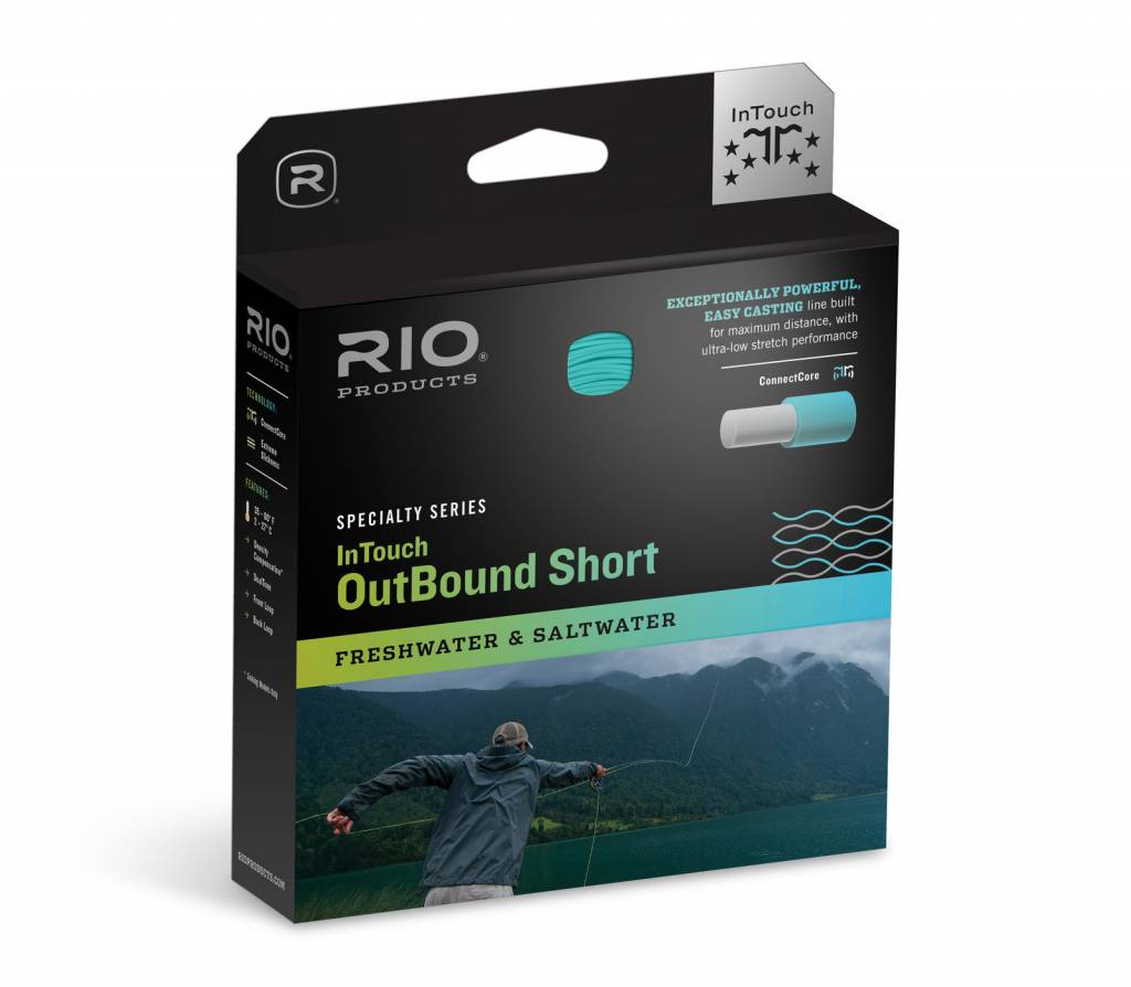 Rio Products Rio INTOUCH OUTBOUND SHORT WF7I/S6 BLACK/TRANS GRAY
