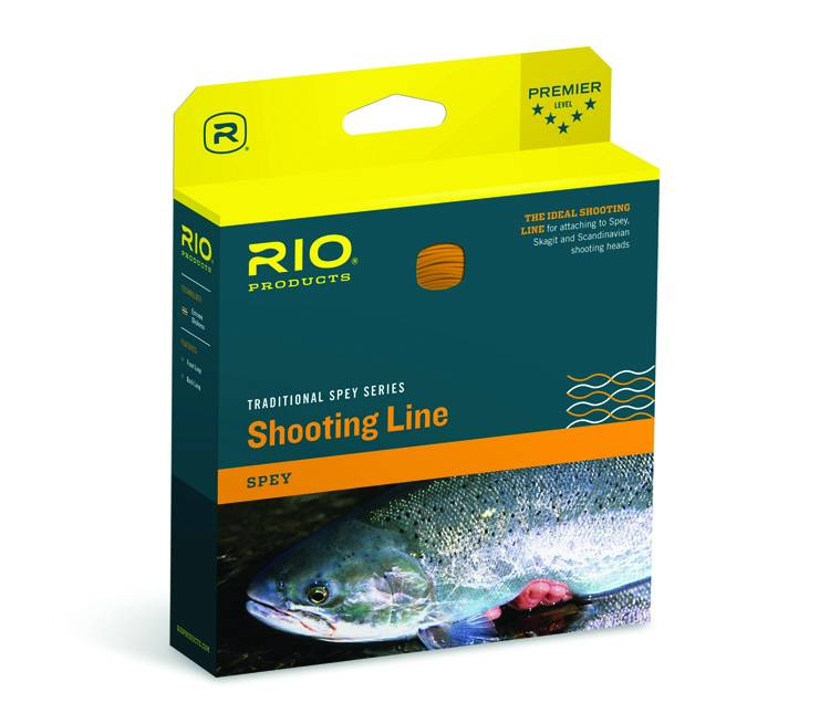 Rio Products Rio POWERFLEX MAX SHOOTING LINE .024 FLOATING ORANGE