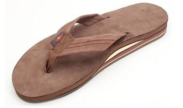 Rainbow Sandals Rainbow Sandals Men's Double Layer Premier Leather with Arch Support,