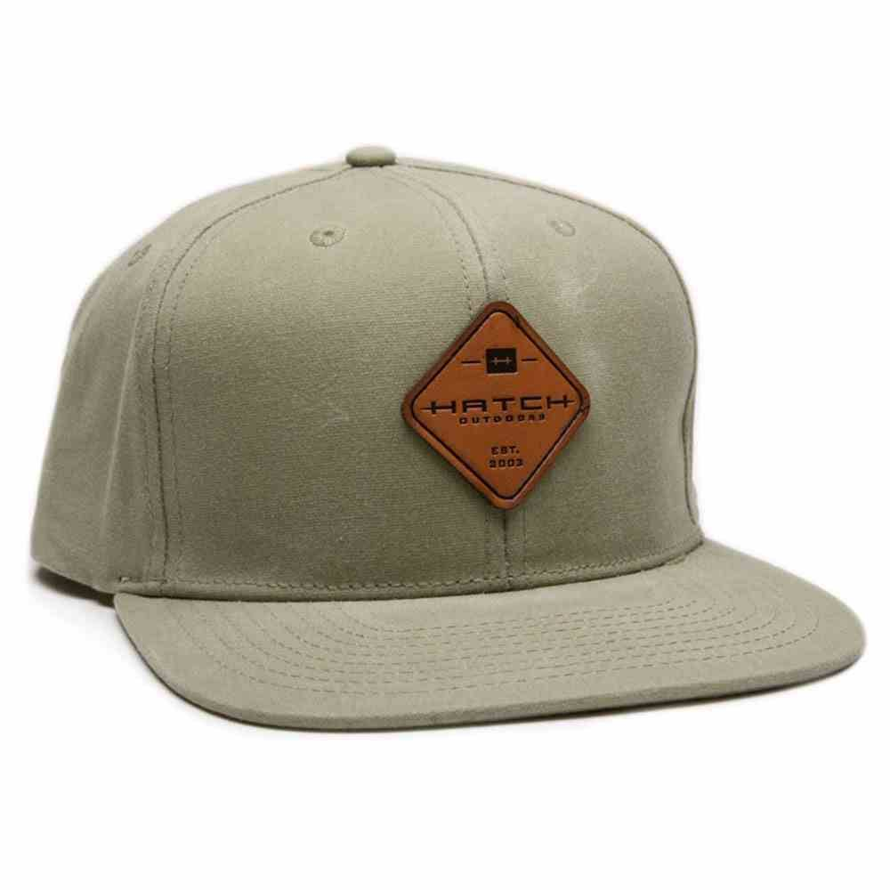 Hatch Outdoors Hatch Waxed Snapback,