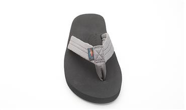 Rainbow Sandals Rainbow Sandals The Cloud - Soft Rubber Top Grey Polyester Strap,