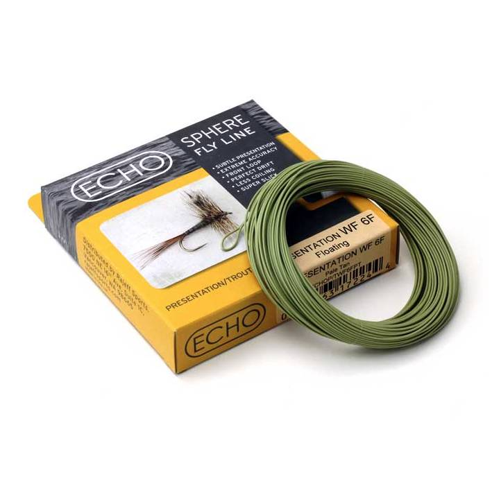 Rajeff Sports ECHO PRESENTATION/TROUT WF 3WT FLOATING PALE TAN