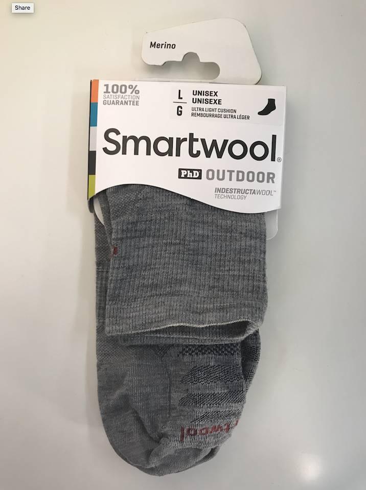 Smartwool Smartwool M's PhD Outdoor Ultra Light Mini Socks,
