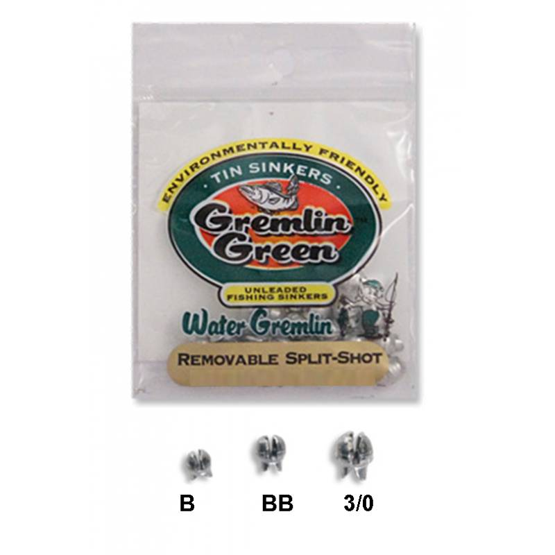 Stone Creek Ltd Water Gremlin Split Shot,