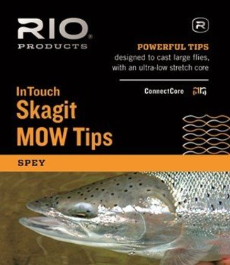 Rio Products Rio Intouch Skagit MOW Light Tip 5ft T-8/5ft Float Black and White