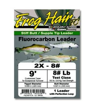 Frog Hair Fluorocarbon Leader,
