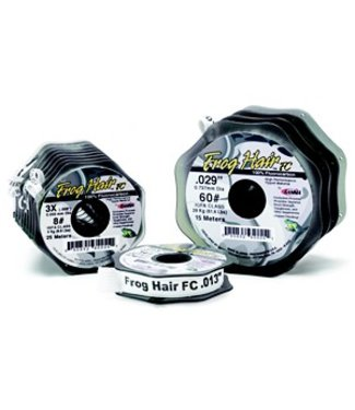 Frog Hair Fluorocarbon Tippet,