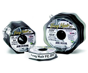 Black Knight/Frog Hair Frog Hair Fluorocarbon Tippet,