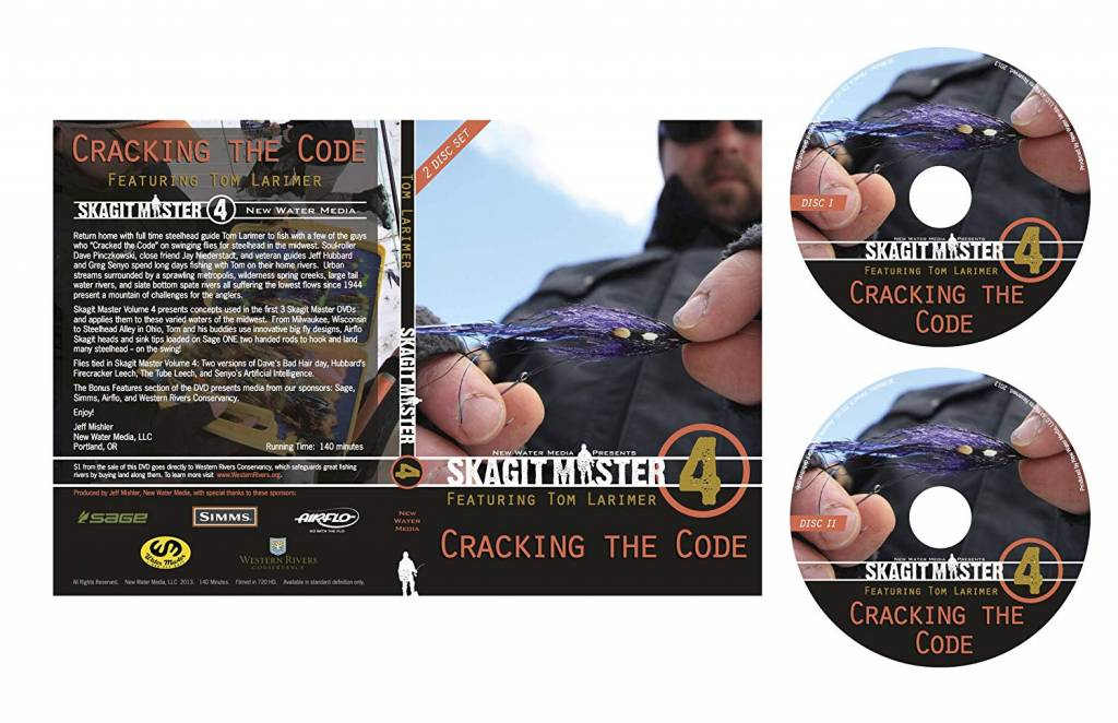Anglers Book Supply DVD, Skagit Master 4