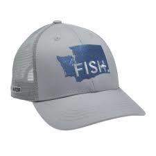 Rep Your Water RepYourWater Washington FISH Hat