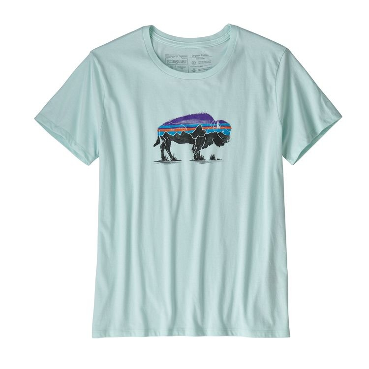 Patagonia Patagonia W's Fitz Roy Bison Organic Crew T-Shirt