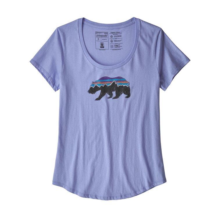 Patagonia Patagonia W's Fitz Roy Bear Scoop Organic T-Shirt