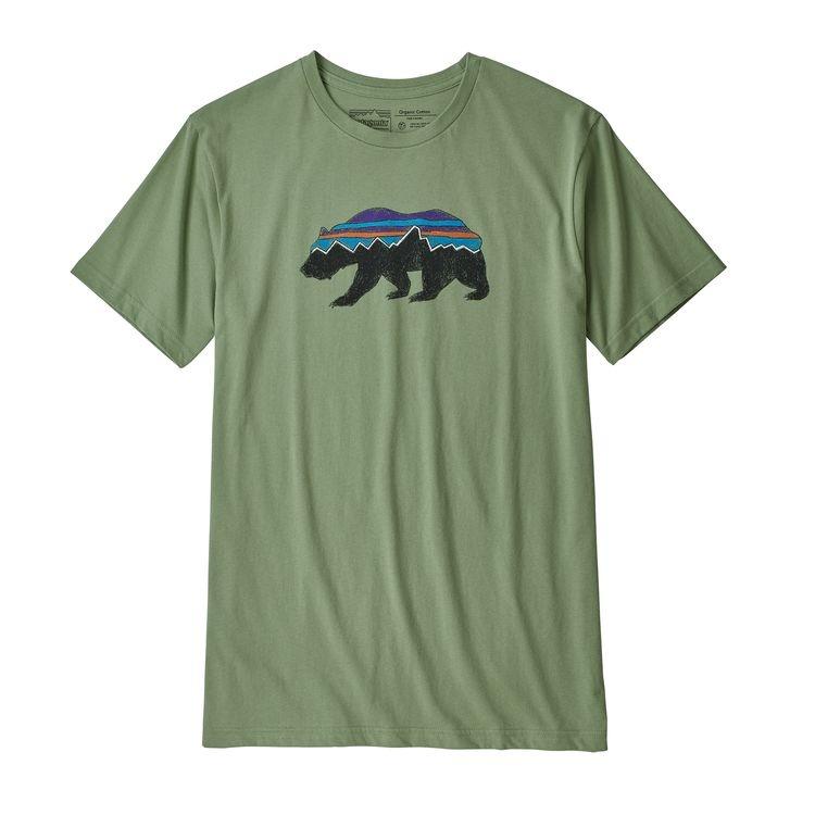 Patagonia Patagonia M's Fitz Roy Bear Organic T-Shirt