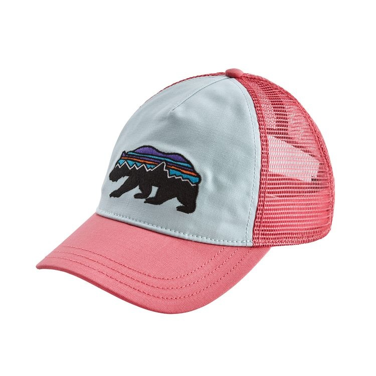 Patagonia Patagonia W's Fitz Roy Bear Layback Trucker Hat Atoll Blue ALL