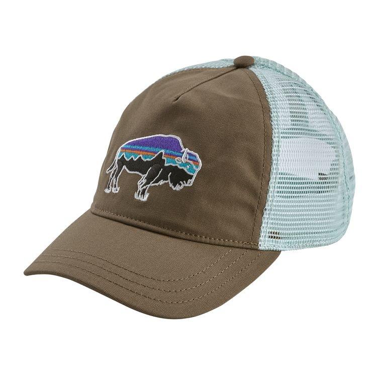 Patagonia Patagonia W's Fitz Roy Bison Layback Trucker Hat Burnie Brown ALL