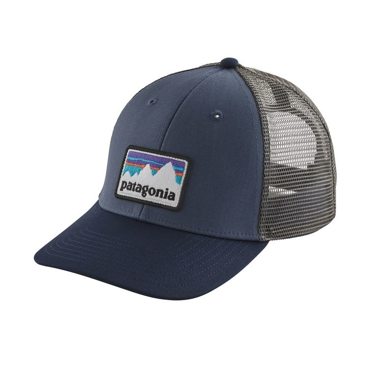 Patagonia Patagonia Shop Sticker Patch LoPro Trucker Hat,