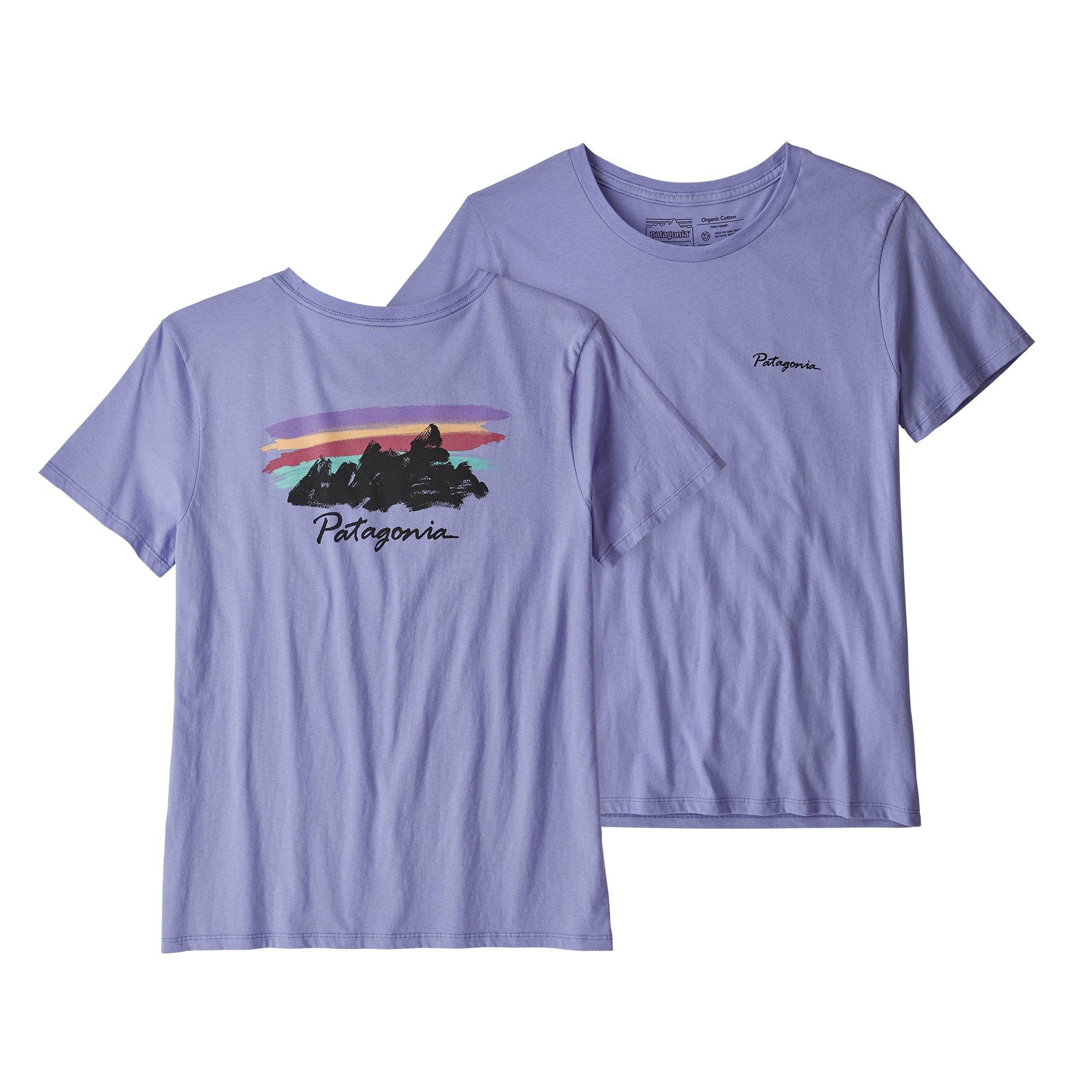 Patagonia Patagonia W's Free Hand Fitz Roy Organic Crew T-Shirt,
