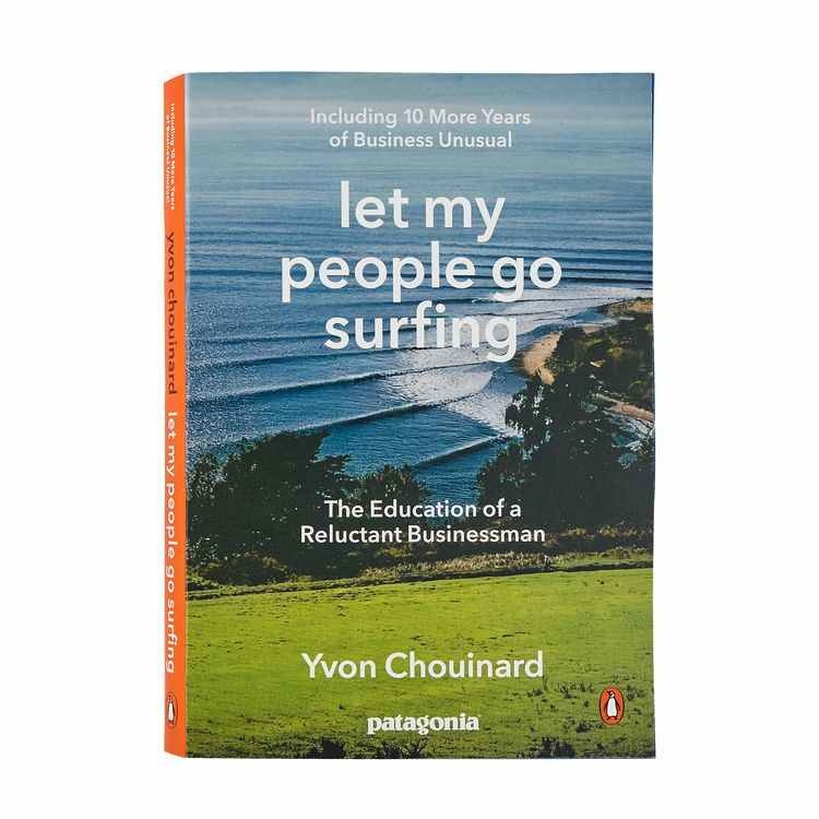Patagonia Patagonia Book - Let My People Go Surfing (Including 10 More Years Of Business Unusual) By Yvon Chouinard (Paperback Book)