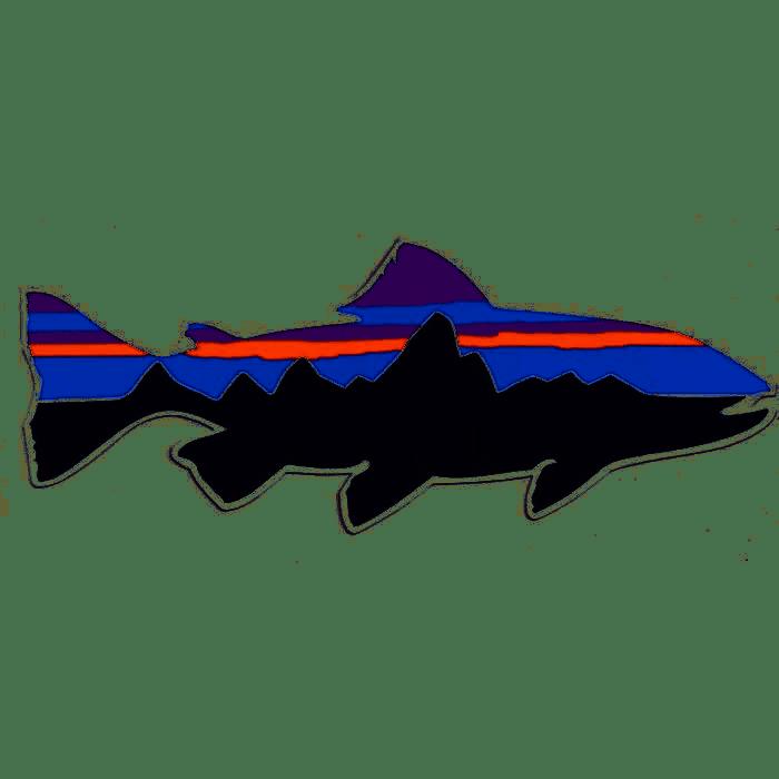 Patagonia Patagonia Fitz Roy Trout Sticker