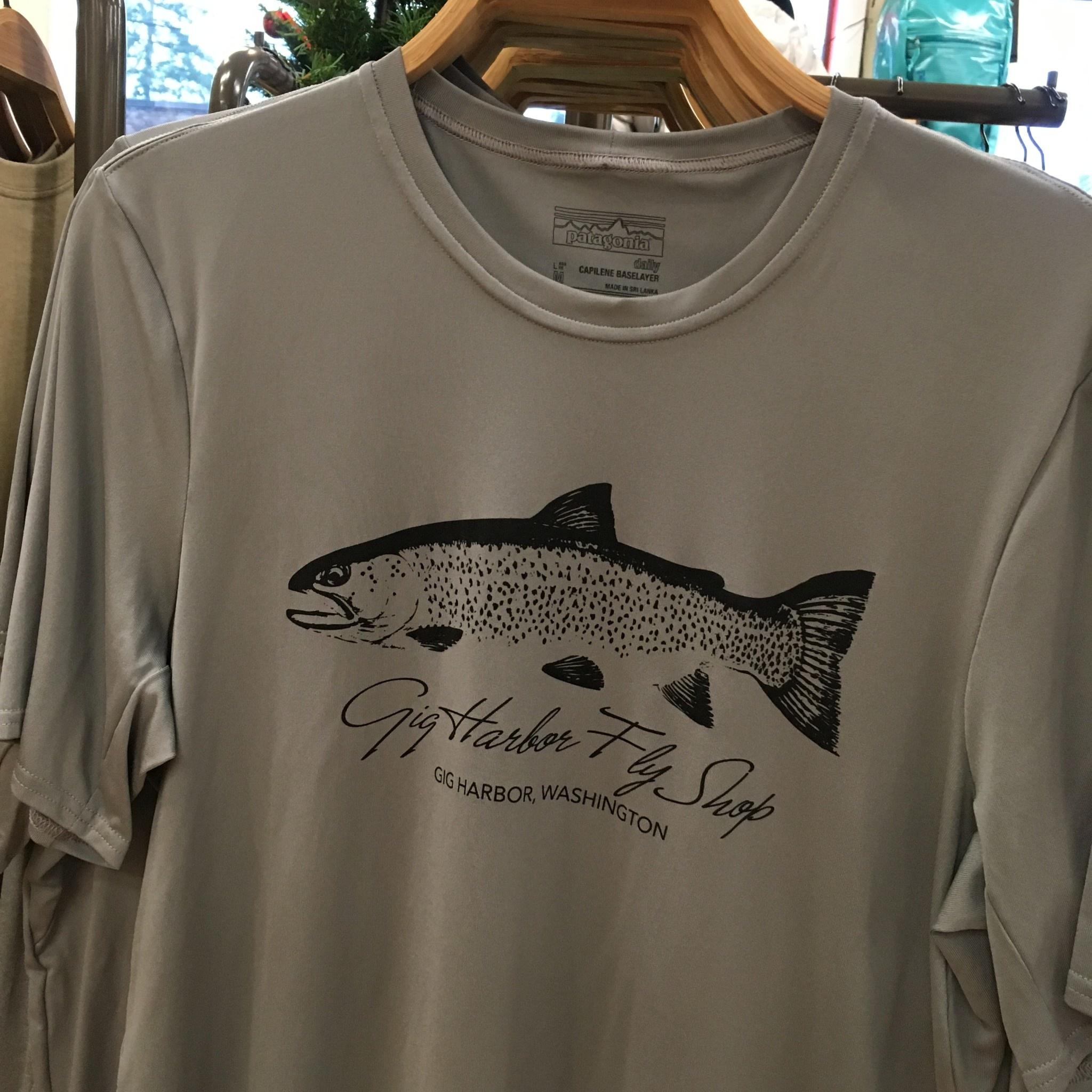 Patagonia Patagonia M's S/S Cap Daily T-Shirt - Sea Run Cutthroat,