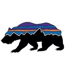 Patagonia Patagonia Fitz Roy Bear Sticker