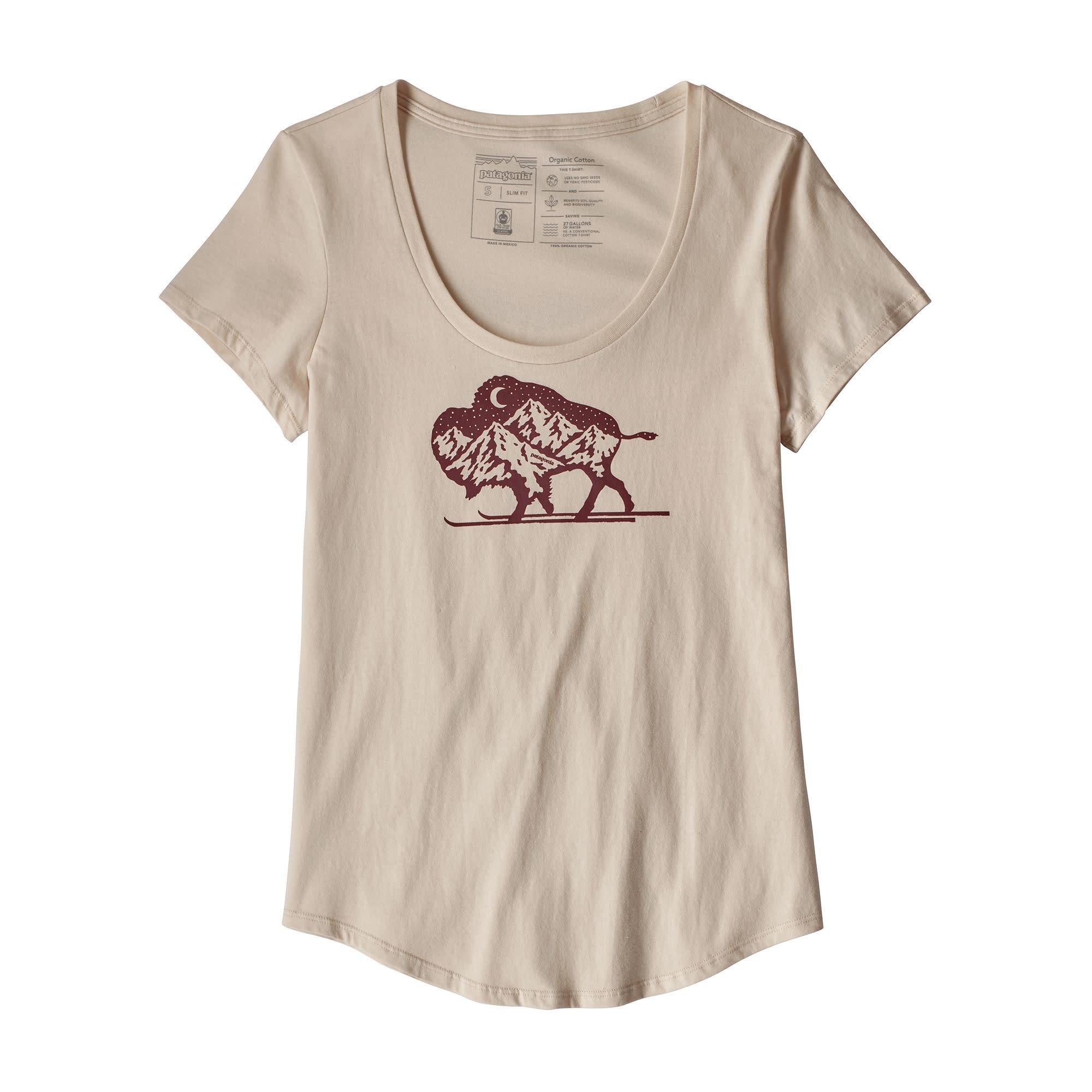 Patagonia Patagonia W's Nordic Bison Organic Scoop T-Shirt