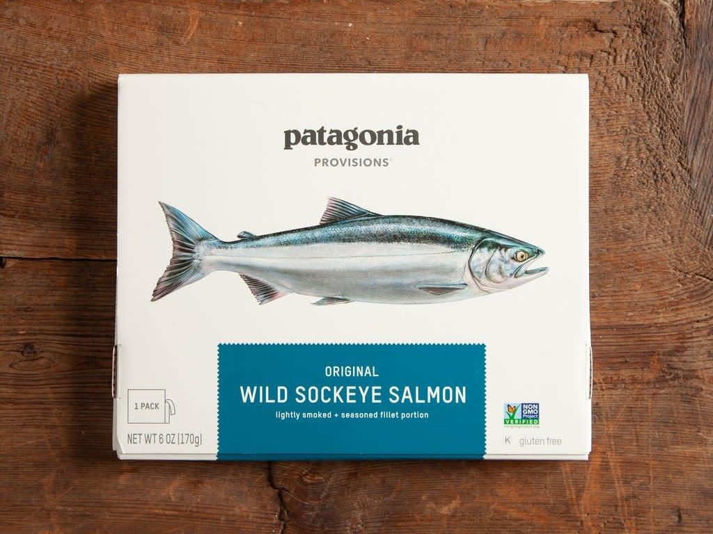 Patagonia Patagonia Provisions Wild Sockeye Salmon, Original 6oz