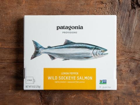 Patagonia Patagonia Provisions Wild Sockeye Salmon, Lemon Pepper 6oz