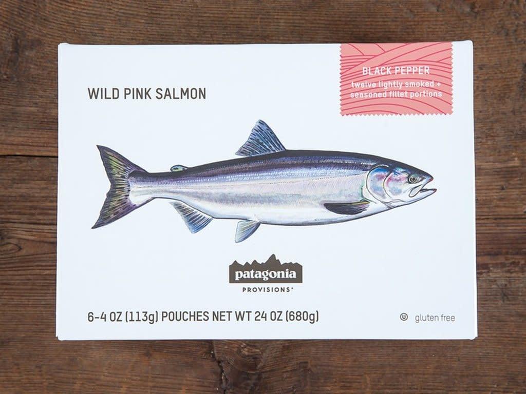 Patagonia Patagonia Provisions Wild Lummi Island Pink Salmon, Black Pepper 8oz