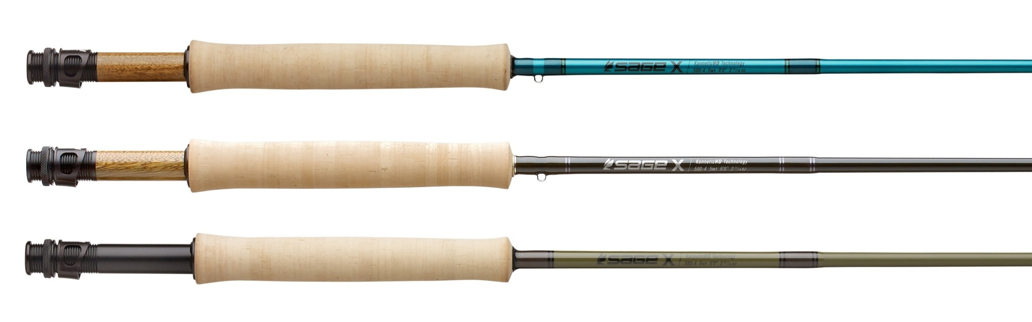 Sage Sage X Fly Rod Tactical Green, 9' 8wt
