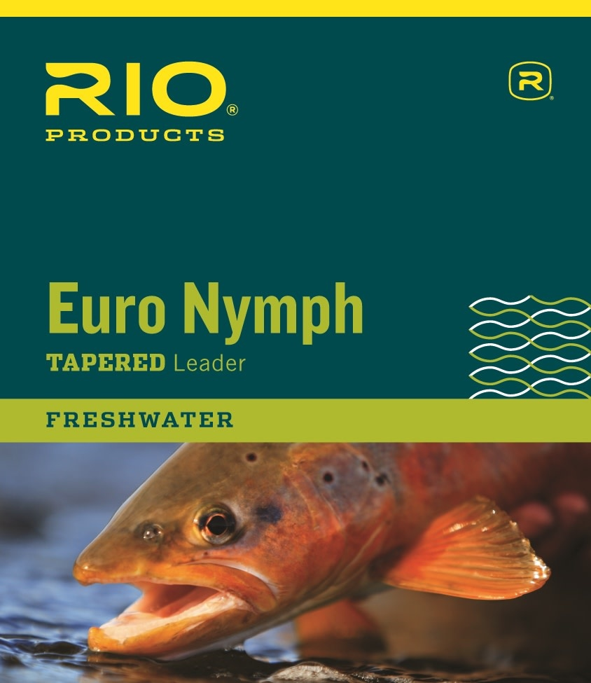 RIO Rio's Euro Nymph Leader w/Tippet Ring