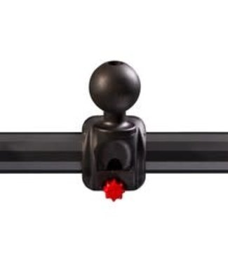 "Hobie Cat Company Hobie Mount 1-1/2"" Ram Ball / H-Rail"