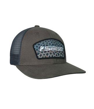 Sage Sage Patch Trucker Hat