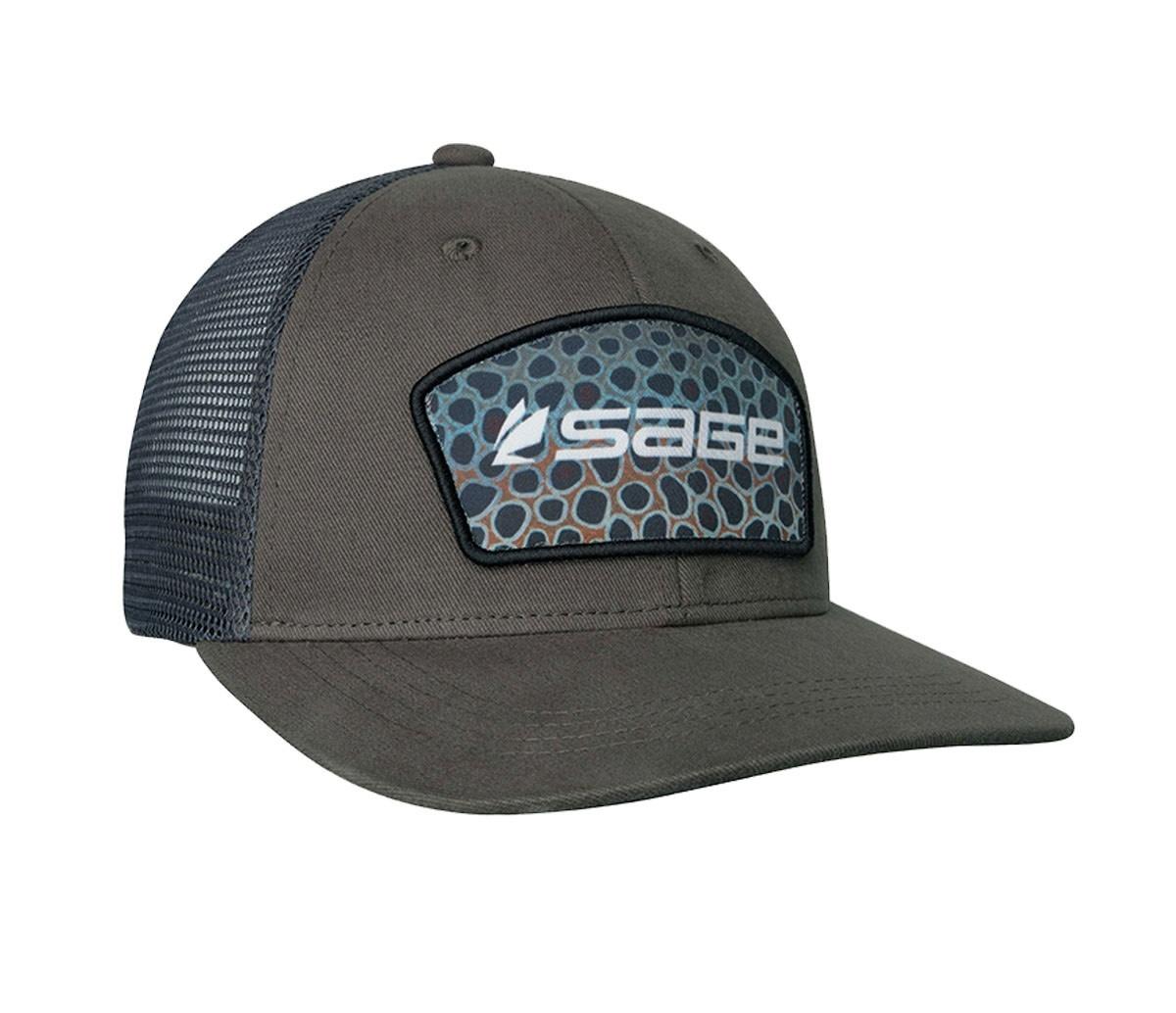 Sage Sage Patch Trucker Hat,