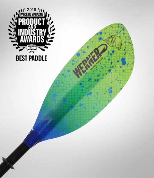 Werner Paddles, Inc Werner Shuna Hooked Straight Paddle,