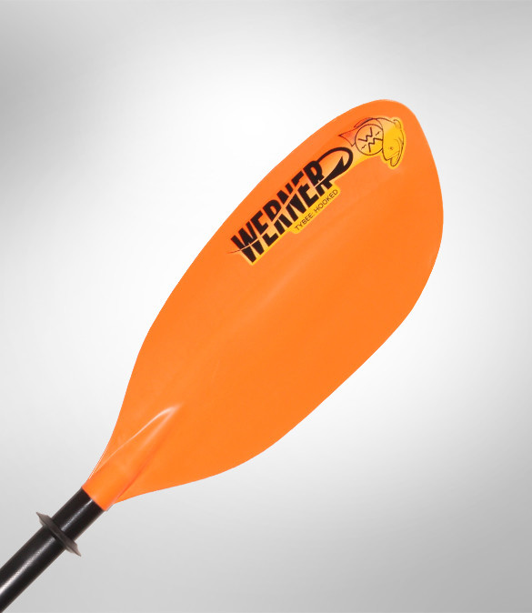 Werner Paddles, Inc Werner Tybee Hooked Straight Paddle,