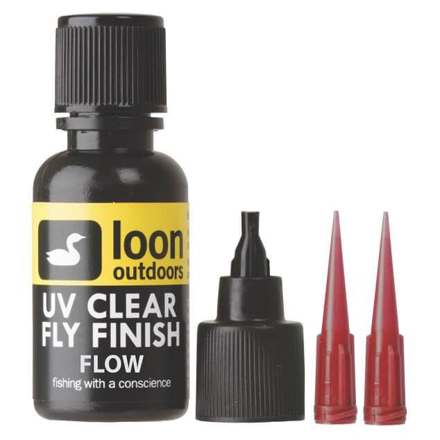 Loon Outdoors Loon UV Clear Fly Finish, Flow 2 oz