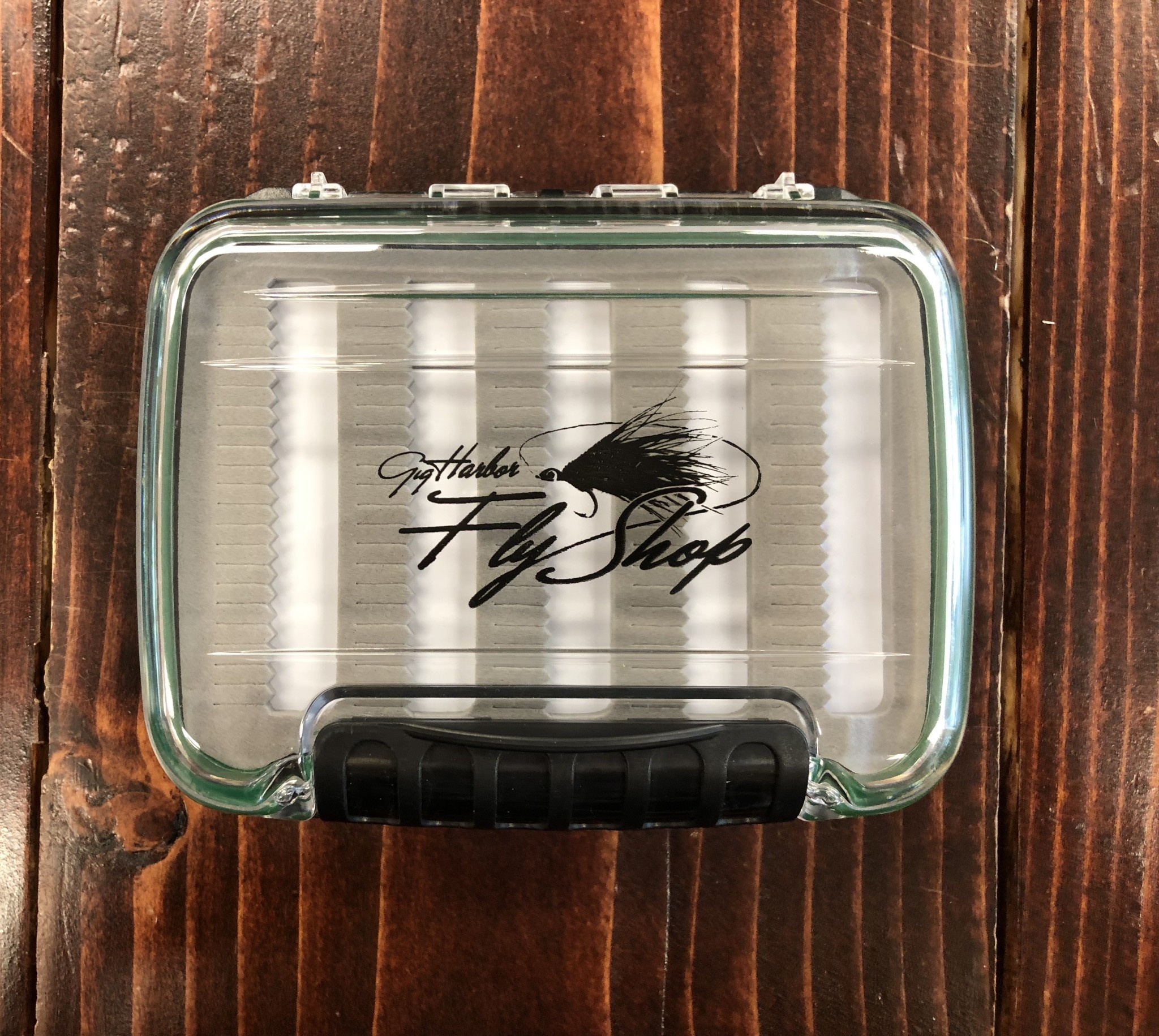 New Phase GHFS Fly Box, Medium Poly Carbonate Waterproof Box