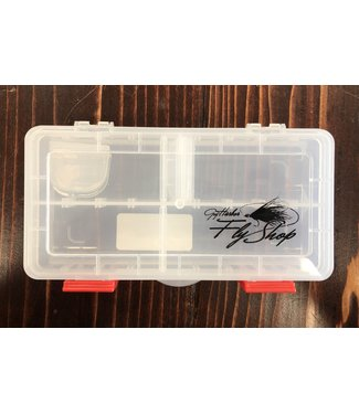 New Phase GHFS Fly Box, Small Adjustable Hook Box 10 compartment