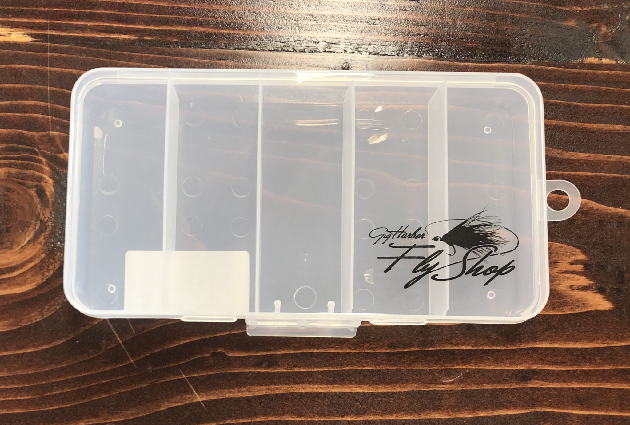 New Phase GHFS Fly Box, Streamer Box, 5 compartment,