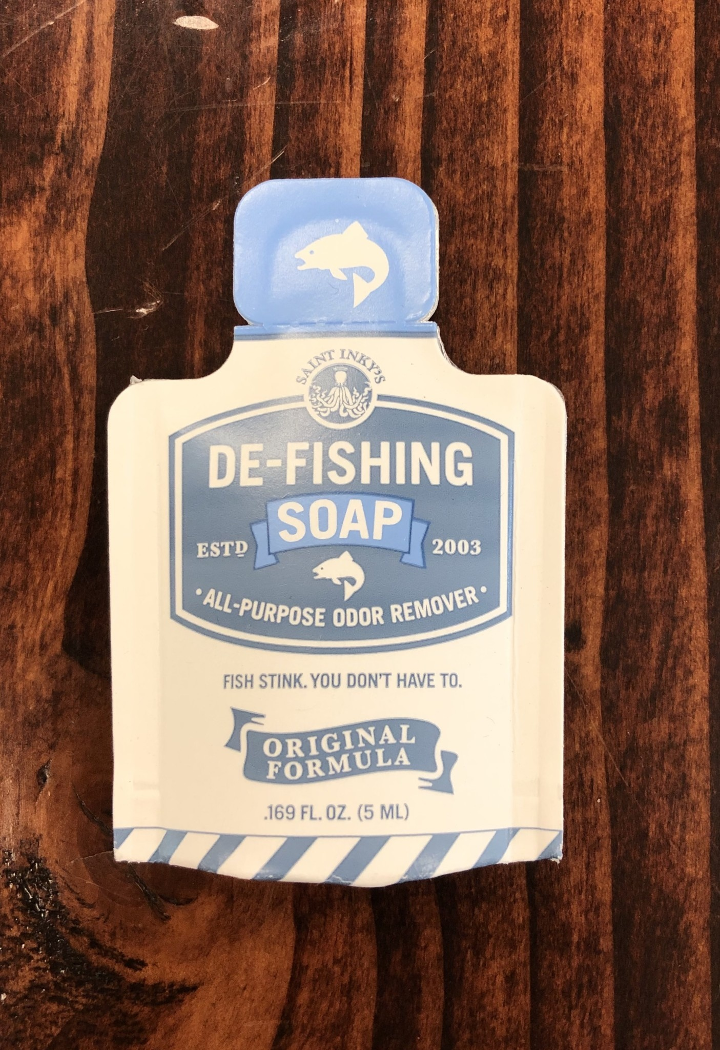 De-Fishing Soap De-Fishing Soap Pocket Pack