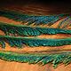 Hareline Dubbin Peacock Swords