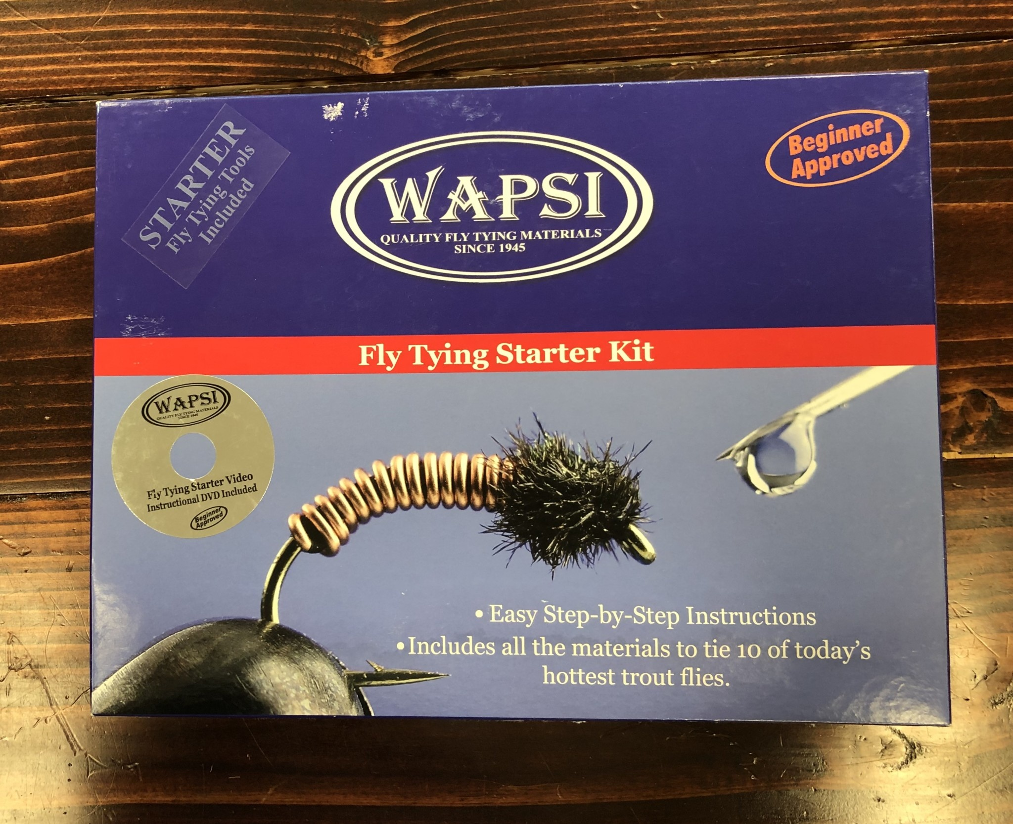 Wapsi Fly, Inc. Wapsi Starter Fly Tying Kit