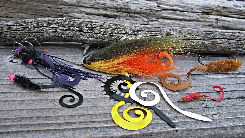 Hareline Dubbin Kileyoman's Slow Rolla Tails