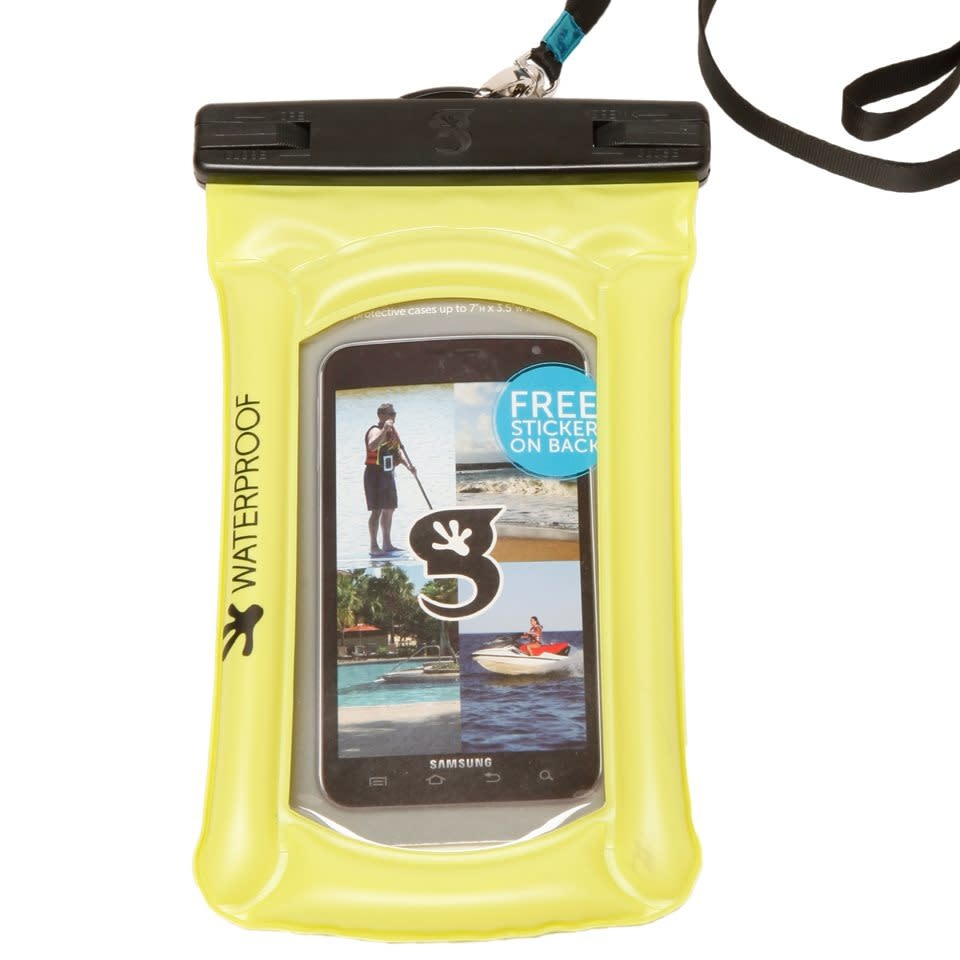 geckobrands geckobrands Floating Large Phone Dry Bag