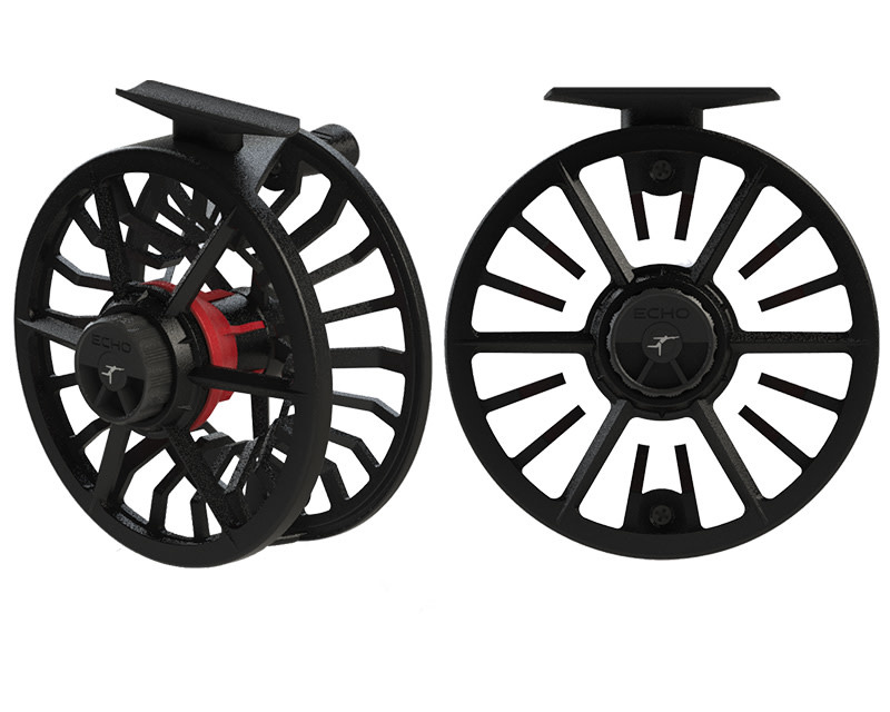 Echo Echo Bravo Fly Reel 10/12 Black