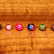 Hareline Dubbin Slotted Tungsten Beads,