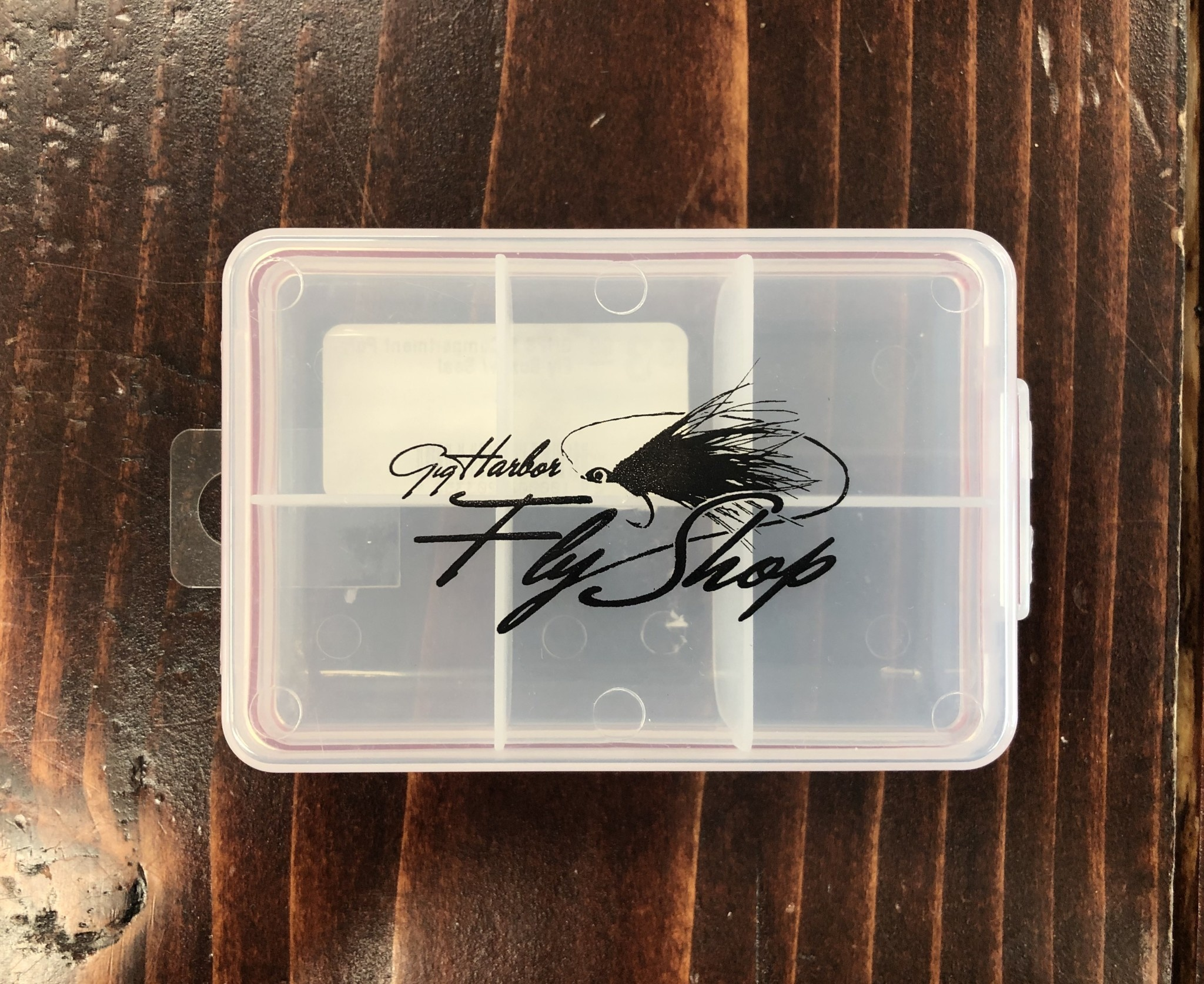 New Phase GHFS 6 Compartment Poly Fly Box w/ Seal