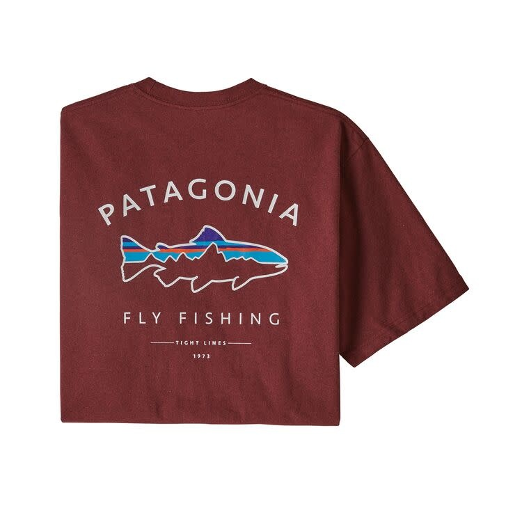 Patagonia Patagonia M's Framed Fitz Roy Trout Responsibili-Tee,